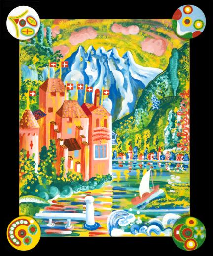 Schloss Chillon by Salvisberg Benedikt