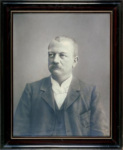 Portrait photo d'Eduard Stauffer (1860-1907), by Strahm P.