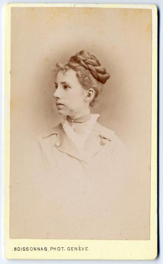 Pauline Haag (1859-1898) by Boissonnas Fred