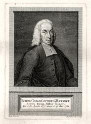 Johann Conrad Gottfried Wildermeth. by Witz Emanuel