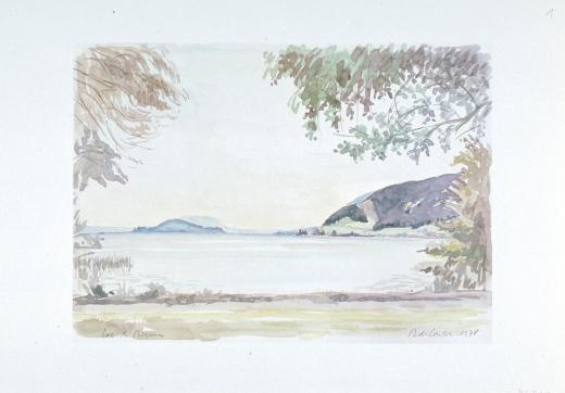 Lac de Bienne by de Coulon Daniel