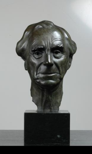 Lord Bertrand Russel by Willi Ernst