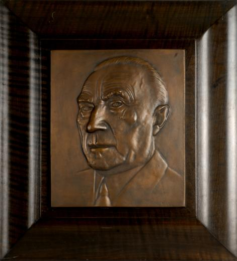 Konrad Adenauer by Willi Ernst